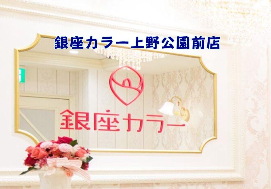 銀座カラー 上野公園前店の店舗情報(料金・行き方・予約)紹介